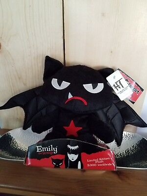 Emily the strange cat Collectible bat