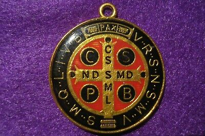 """The Power and Effects of the Medal & Cross of St. Benedict""""devil-chasing Metal"""""""