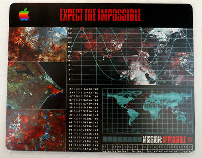 Mission Impossible 1996 Tom Cruise Movie APPLE Computer Mouse Pad