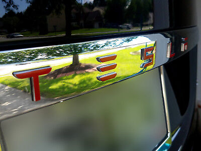 TESLA MODEL 3 Frunk Logo Decal - Available in Various Styles