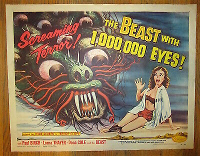 The Beast With A Million Eyes  / 1955  /  Roger Corman  /  Original Poster