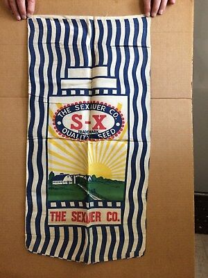 The Sexauer Co. Quality Seed Cloth Sack Des Moines, Iowa