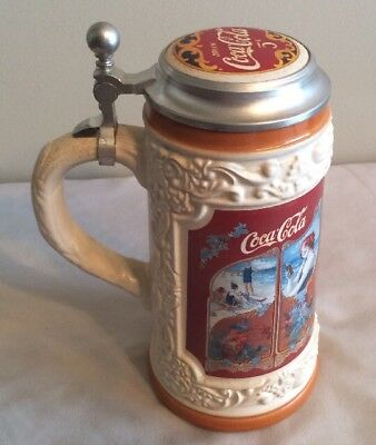 1999 Coca Cola Company Collectors Stein Made in Germany