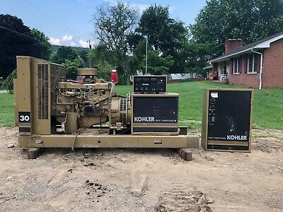 Kohler Fast Response Ii Generator With 6 Cyl Indusrtrial Engine Prime Mover 33Kw