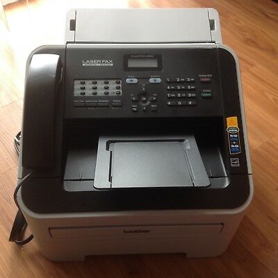 Brother FAX 2840 IntelliFax-2840 FAX2840 High-Speed Laser FAX Machine