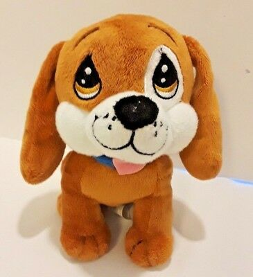6 inch Brown Precious Moments Plush Puppy