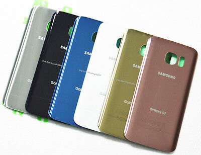 Replace Rear Glass Battery Door Back Housing Cover For Samsung Galaxy S7 G930