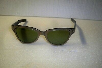 Vintage  50's/60's American Optical browline cats eye sunglasses kitsch