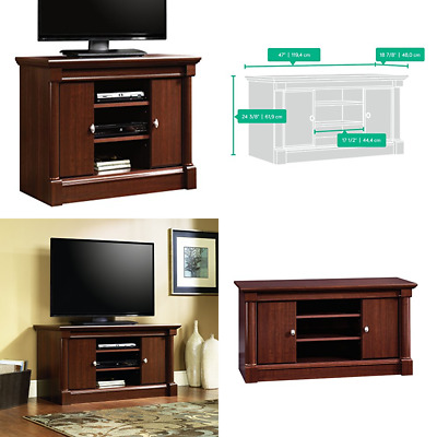 Sauder Palladia Panel Tv Stand For Tv S Up To 50 Select Cherry