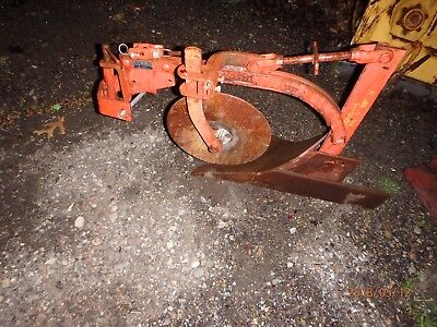 "Simplicity/Allis Chalmers #990204 10"" Plow with Original #990203 Sleeve Hitch"