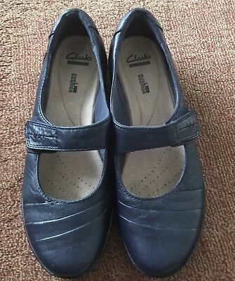 Clark's  Woman's Shoes Navy Everlay Kennon  Size Au 9