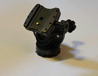 GV2 ACRATECH Ballhead w/Gimball Feature - Rubber Knobs, Quick Release/Detent Pin
