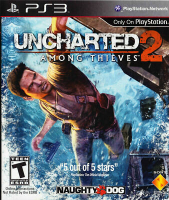 Uncharted 2: Among Thieves - Sony PlayStation 3 PS3 Game