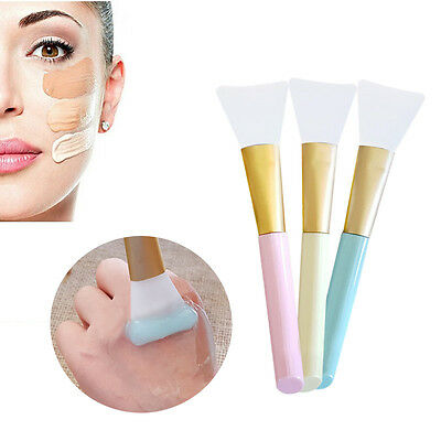 Fashion DIY Silicon Makeup Skin Care Treatment Tool Facial Face Mask Brush Pop