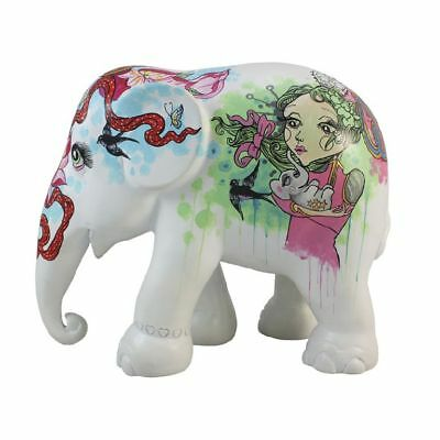 Elefant der ELEPHANT PARADE - He who walks with Silver on ... 10cm