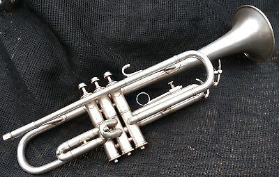 Reynolds U.S. military Professional trumpet in silver