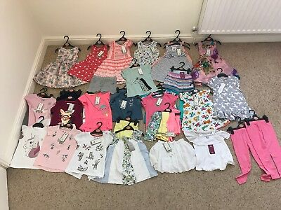 BNWT Girls Age 3-4 Summer Bundle Holiday Clothes worth over £200