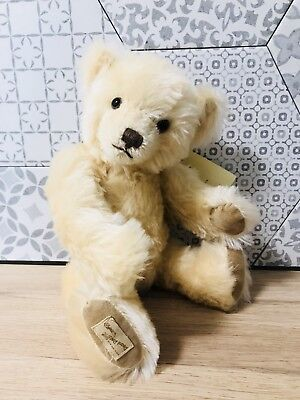 "Gorgeous Mohair Bear By Deans Rag Book LE 313 Of 1500 ""Champagne""  32cm"