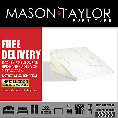 Mason Taylor Giselle Bedding Foam Wedge Back Support Pillow AU