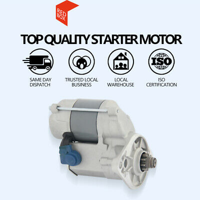 Starter Motor Fits For Holden Rodeo TF 2.3L/2.6L Petrol (4ZE1) 1988 to 1998