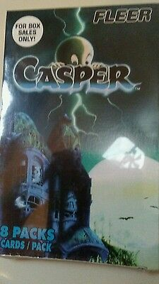 2 boxes casper the friendly ghost collecter cards