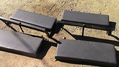 Land Rover Defender / Series rear bench seats x 2