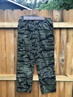 starched tiger fatigues