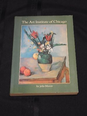 THE ART INSTITUTE OF CHICAGO collection guidebook PB John Maxton 1977, 298 illos