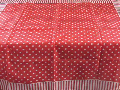 Ladies Vintage Sarah Coventry Red Spotty Scarf
