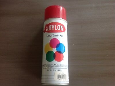Vintage Krylon Spray Paint Can 1991 Cherry Red Gloss 2101