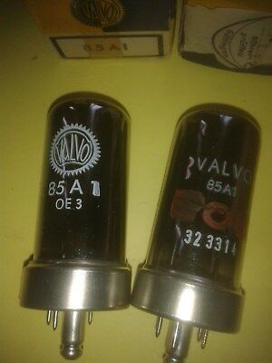 pair vintage stabilisator tubes 85A1, VALVO, new, s.Text