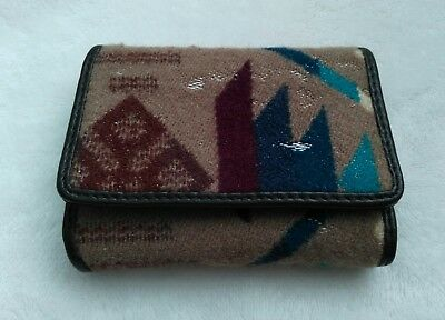 Pendleton Wool Trifold Wallet Perfect Condition