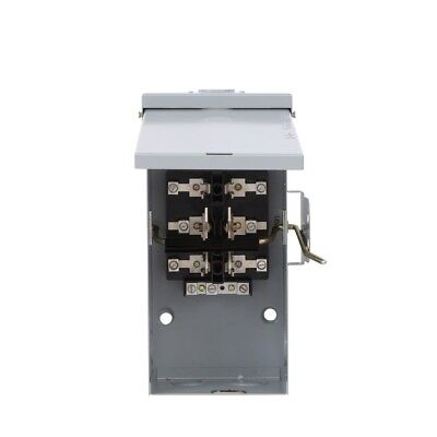 Emergency Power Transfer Switch GE 100 Amp 240-Volt Non-Fused Double-Throw