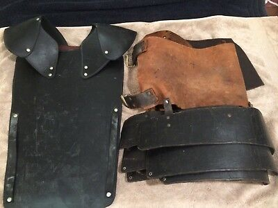 SCA Leather Chest Armor, Protection. LARP. Heavy Combat. Medieval Leather Armor