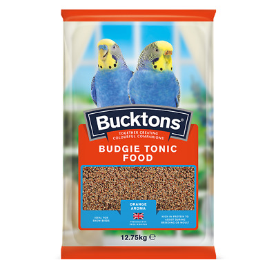 Bucktons Budgie Tonic Seed / Food Feed Bird seed Feed Orange Aroma
