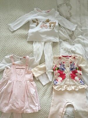 Ted Baker Baby Girl Outfit Bundle Size 12-18 Months