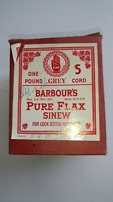 Barbour's Pure Flax Sinew 5 Cord One Pound