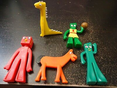 Vintage Gumby,Pokey and Friends PVCs