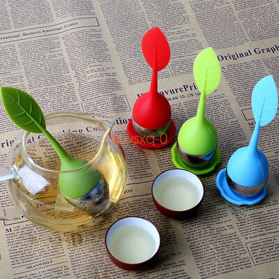 Tea Infuser Loose Tea Leaf Strainer Silicone Herbal Spice Filter Diffuser Ball