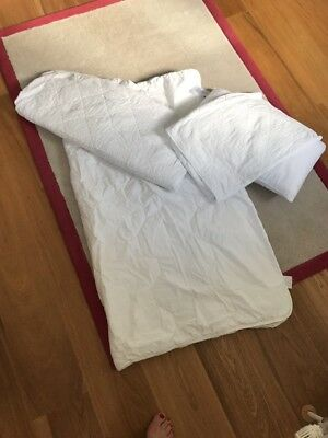 The White Company Cot Bed Duvet, Matresses Protector, Pillow & Protector