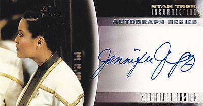 Star Trek: Insurrection. A8 Jennifer Tung Autograph Card by Skybox.