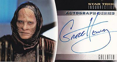 Star Trek: Insurrection. A11 Gregg Henry Autograph Card by Skybox.