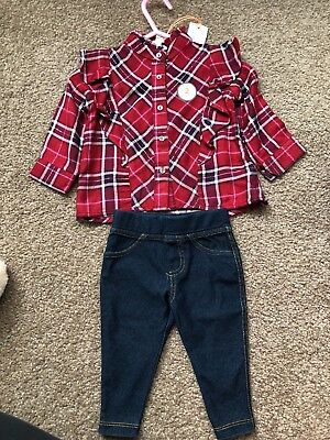 River Island Mini Girls outfit  Size 0-3 Months