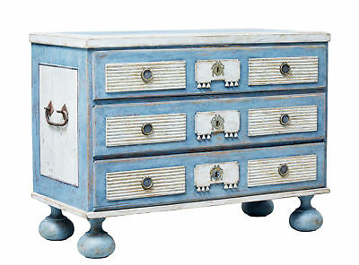 Early 19Th Century Gustavian Painted Chest Of Drawers