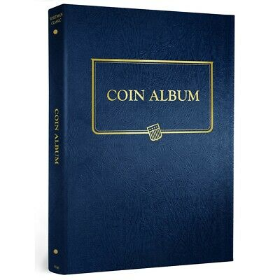 Whitman Coin Collection Album Universal Binder For All Page Blank 9140 Mix Match