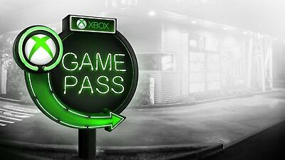 Trial - 1 Month Xbox Game Pass Membership Code for Microsoft Xbox One / 360 USA