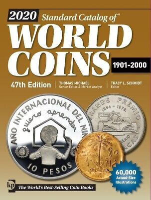 New 2019 Krause World Coins Catalog 1901 - 2000 46 Edition Free US Shipping