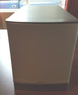 Bose Companion 3 Series II Multimedia Computer Speaker System Subwoofer AS IS