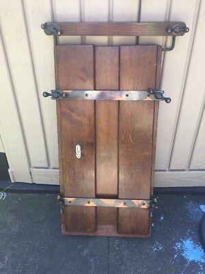 Vintage Antique Wooden Trouser Tie Press Stretcher Display Prop