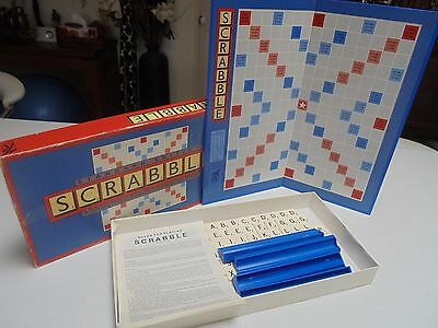 Scrabble Board Game Edition Murfett Regency 1988 Complete with instructions